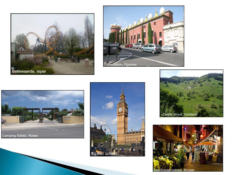 Een Toeristisch landschap is een cultuurlandschap dat gekenmerkt wordt door volgende elementen: historische gebouwen, mooie natuur, kunst, wandelpaden, fietspaden, musea, kust, hotels, skigebied, pretpark, veel toeristen, … 86