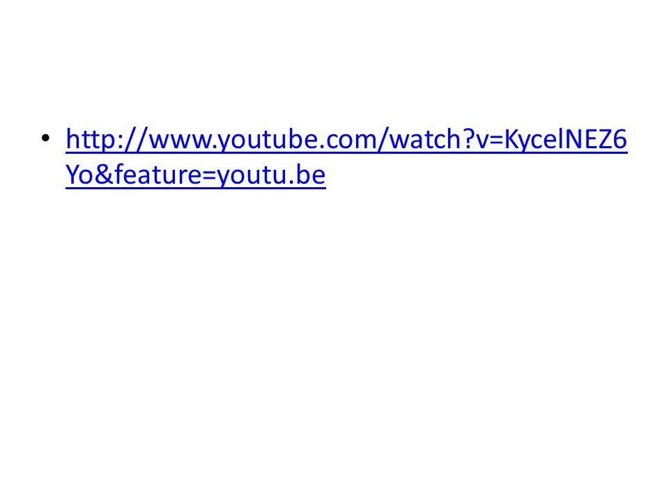 http://www.youtube.com/watch?v=KycelNEZ6 Yo&feature=youtu.be http://www.youtube.com/watch?v=KycelNEZ6 Yo&feature=youtu.be