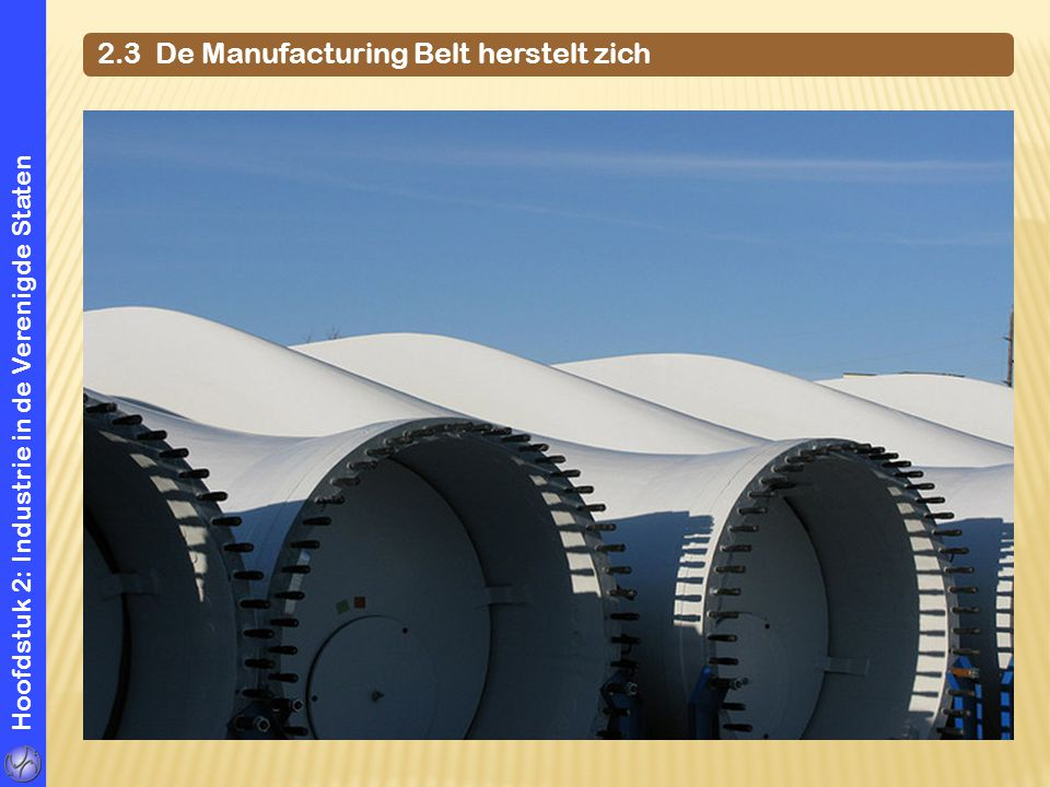 Hoofdstuk 2: Industrie in de Verenigde Staten 2.3 De Manufacturing Belt herstelt zich