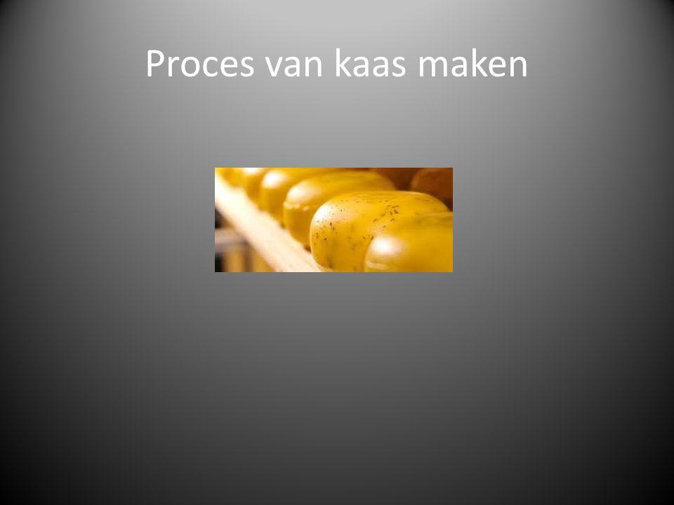Kaasbereiding Kaasmaken is het concentreren van de meeste vaste stoffen in de melk (eiwitten, vetten en mineralen), ofwel het scheiden van deze stoffen van het vocht.