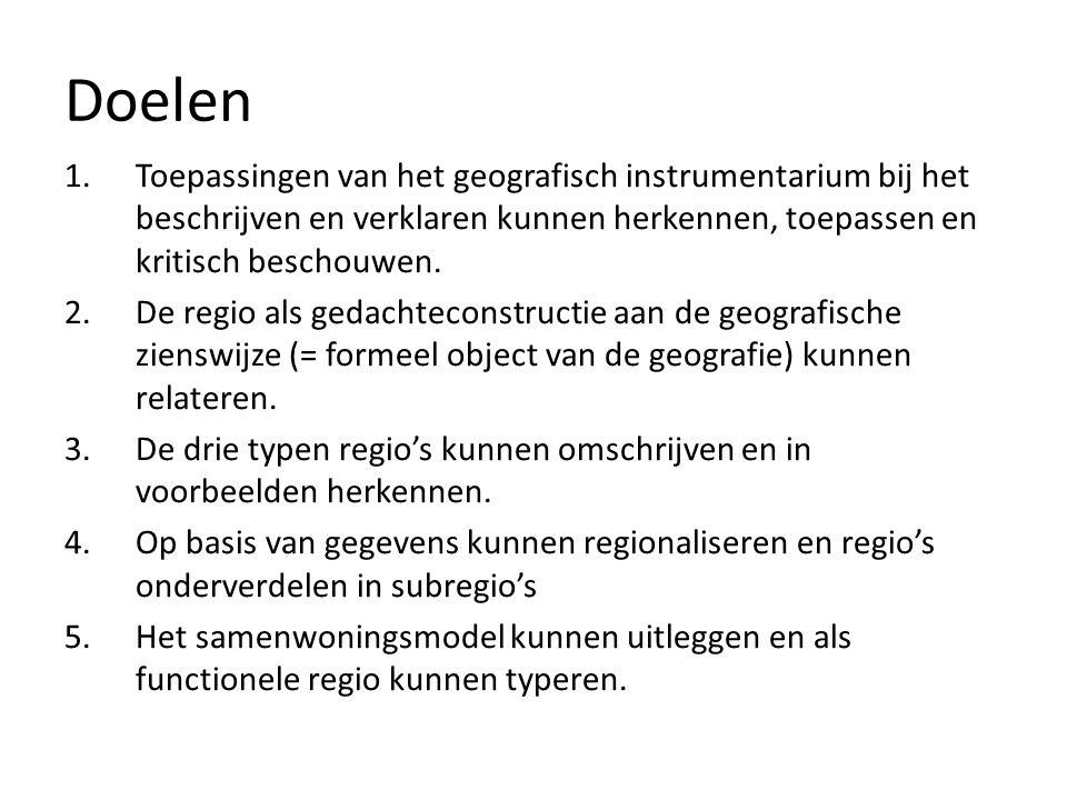 Regio's en regionaliseren Knox & Marston, regional analysis, p. 31- 36