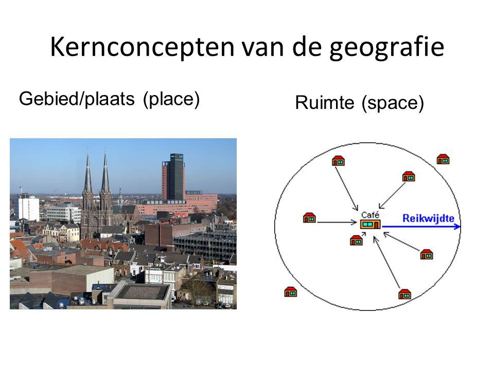 Oriëntatie op de geografie Bijeenkomst 5 -Terugblik kernconcept ruimte (o.a. kwantitatieve technieken - Regio's