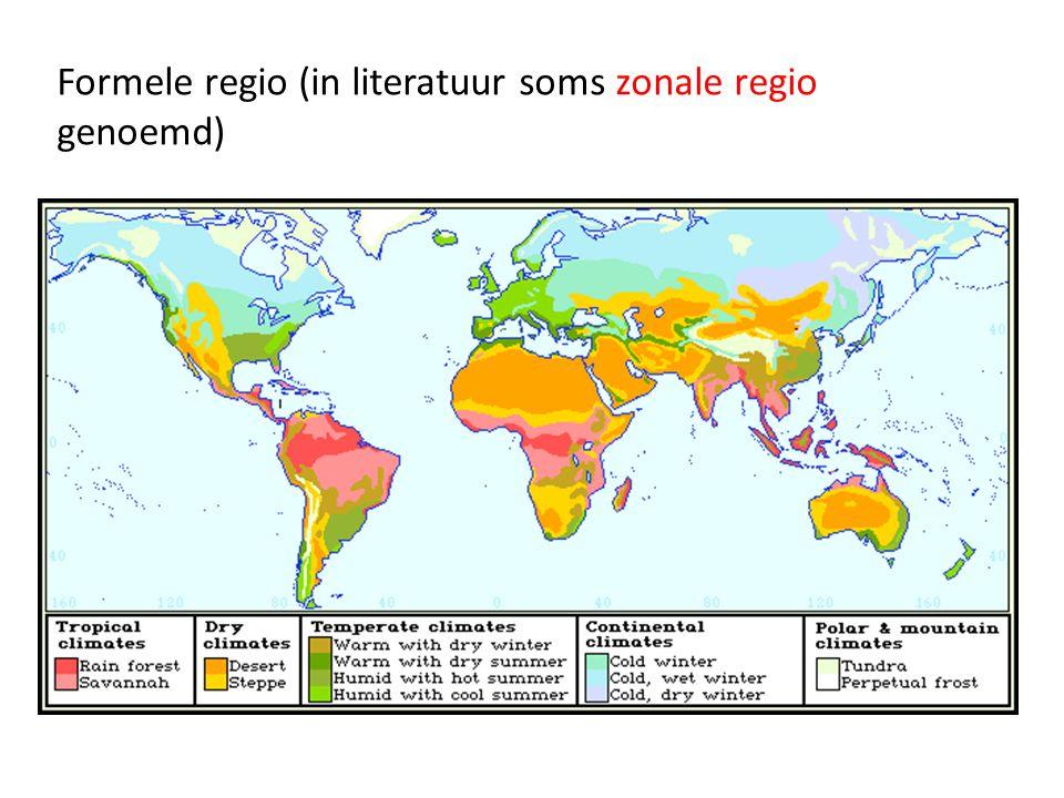 Formele regio