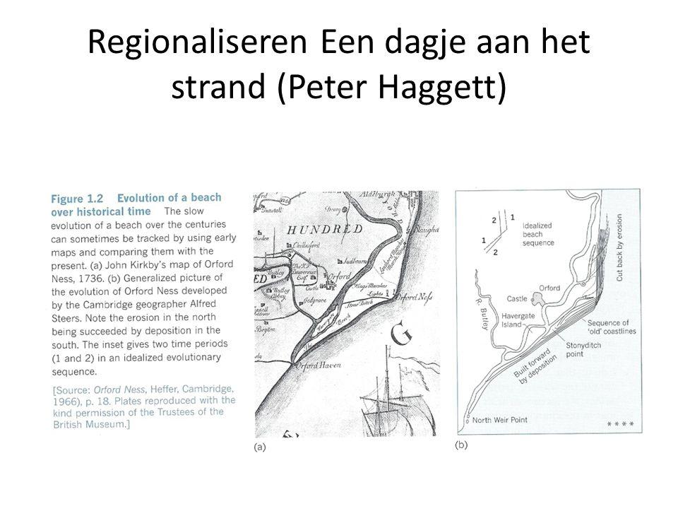 Regionaliseren Een dagje aan het strand (Peter Haggett) Orford Ness