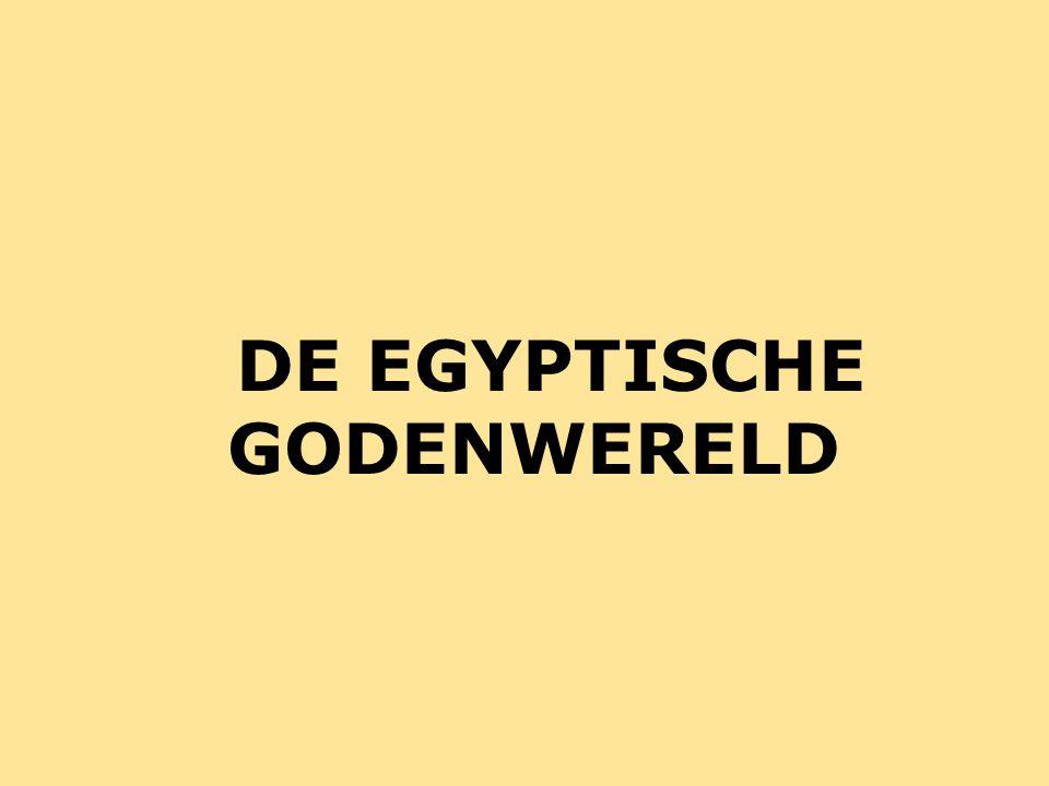 Centrale probleemstelling: Hoe ziet de Egyptische godenwereld eruit.
