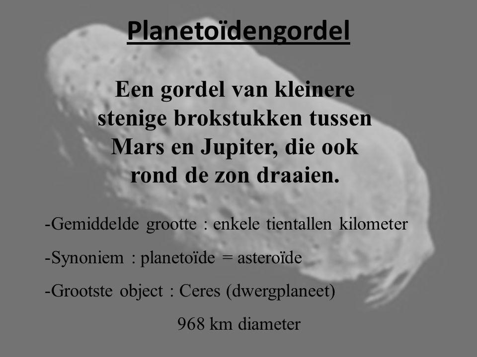 """Augustus 2006 : bijeenkomst van de internationale Astronomische Unie Pluto is geen planeet, maar een """"dwergplaneet"""" !"""