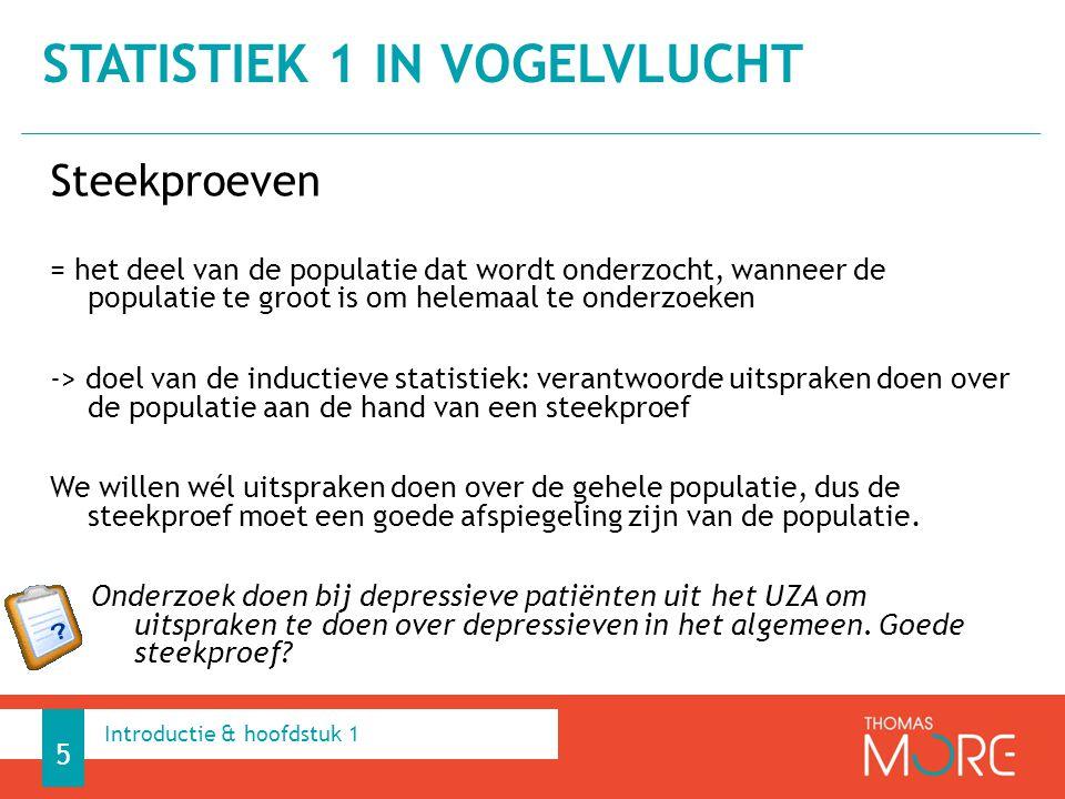 Onduidelijke steekproef 95% van de Belgen is tevreden over Activia Gebrek aan context Duracell-batterijen gaan tot 5 maal langer mee Interne validiteit Laat het onderzoeksopzet toe om causale conclusies te trekken.