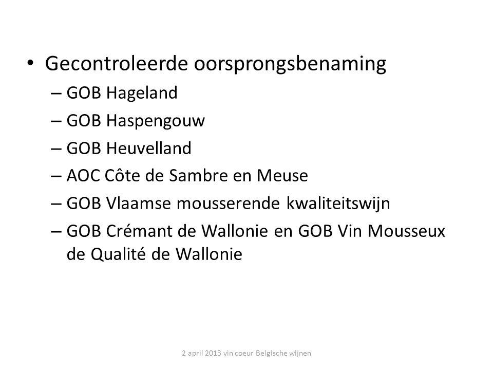 Witte Wijn 2 april 2013 vin coeur Belgische wijnen