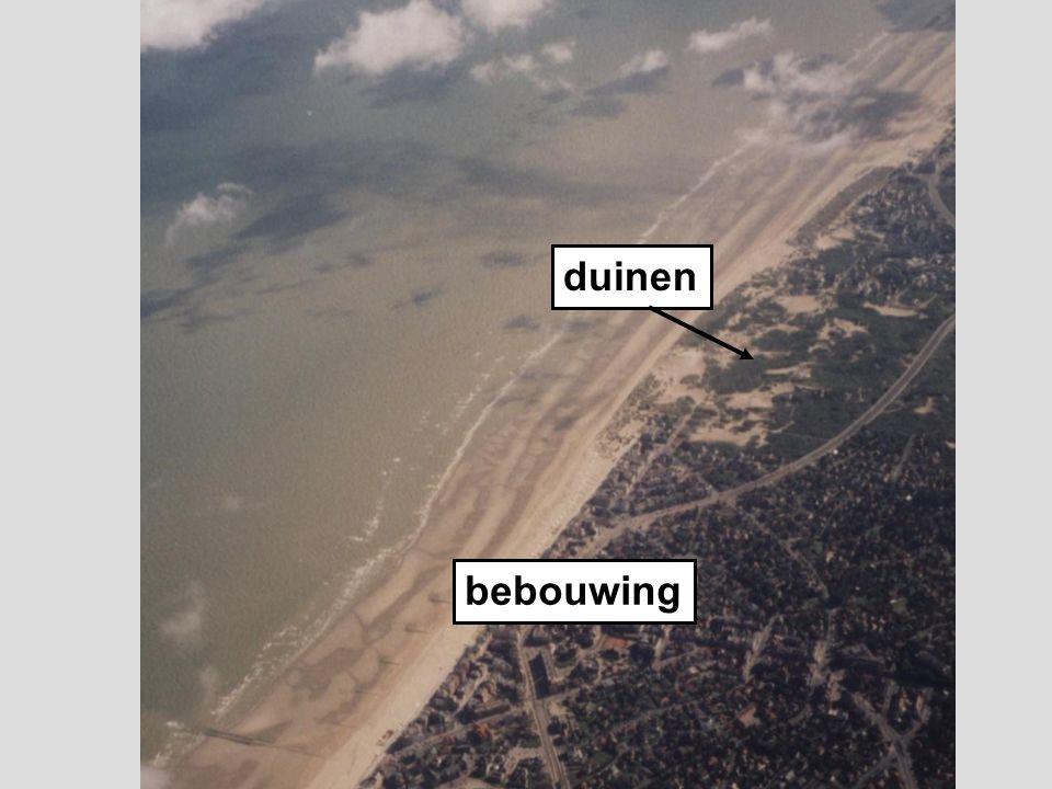 duinen bebouwing