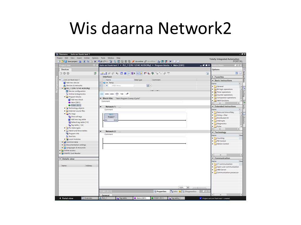 Wis daarna Network2