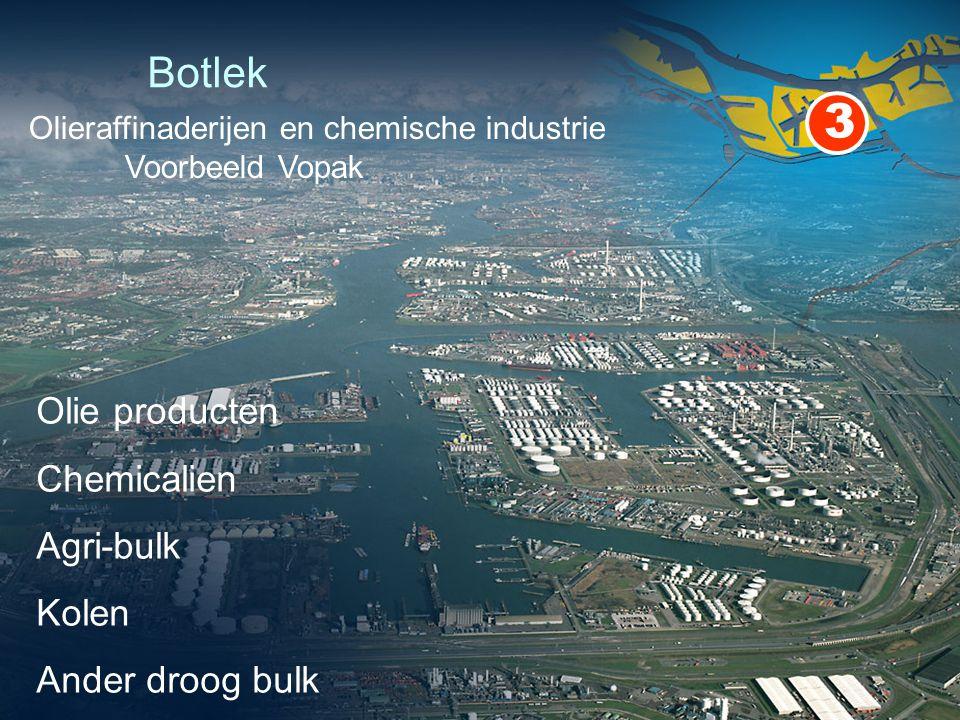 Botlek 3 Olie producten Chemicalien Agri-bulk Kolen Ander droog bulk Olieraffinaderijen en chemische industrie Voorbeeld Vopak