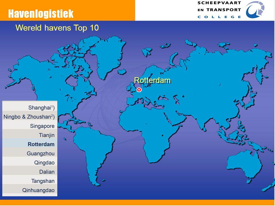 Rotterdam Wereld havens Top 10