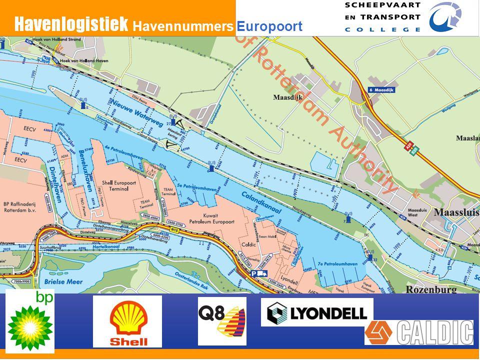 Havennummers Europoort