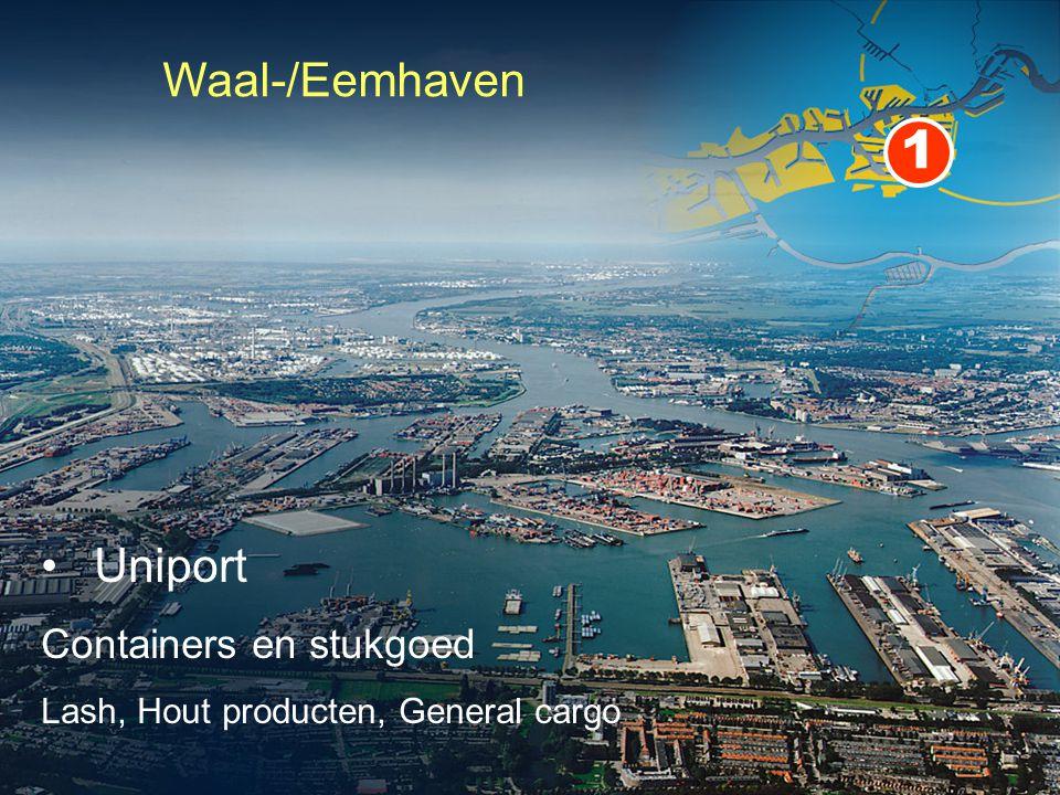 Waal-/Eemhaven Uniport Containers en stukgoed Lash, Hout producten, General cargo 1