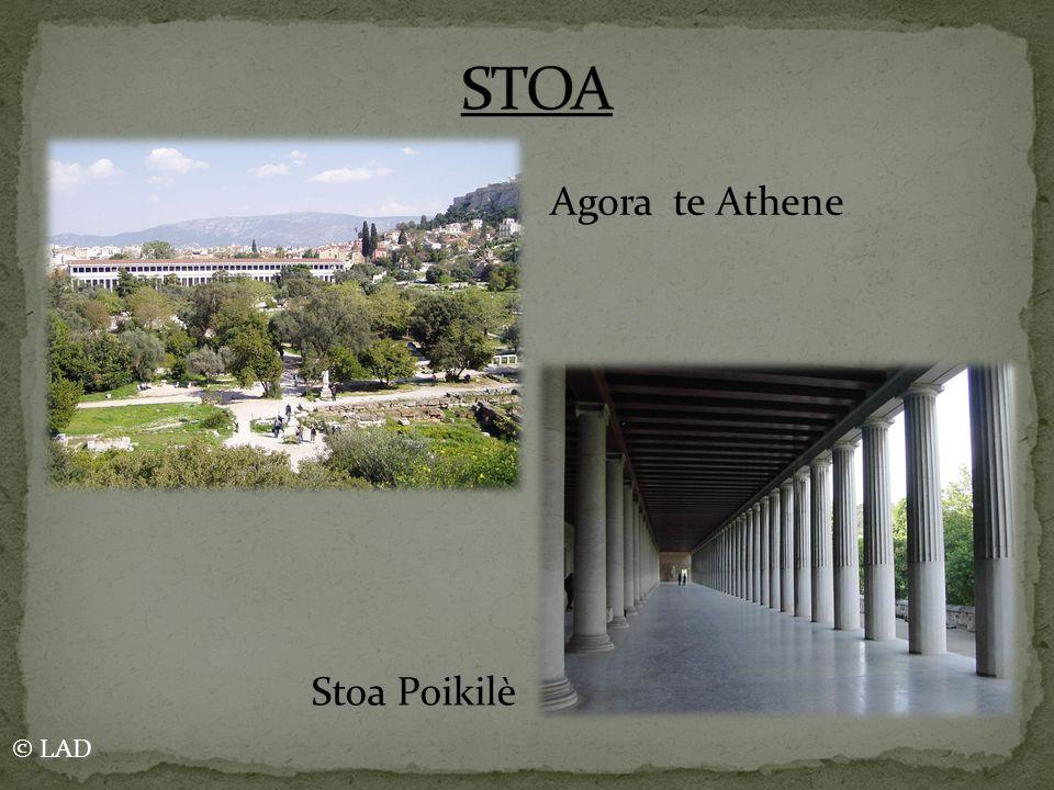Agora te Athene Stoa Poikilè © LAD