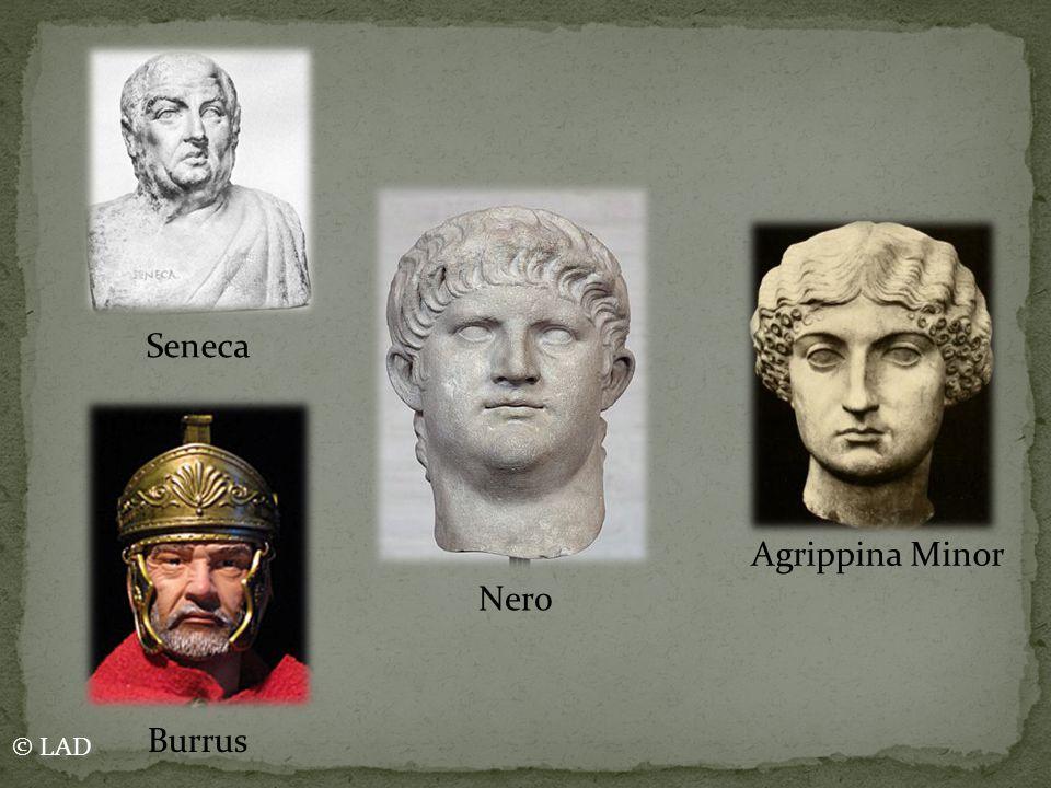 Nero Agrippina Minor Seneca Burrus © LAD