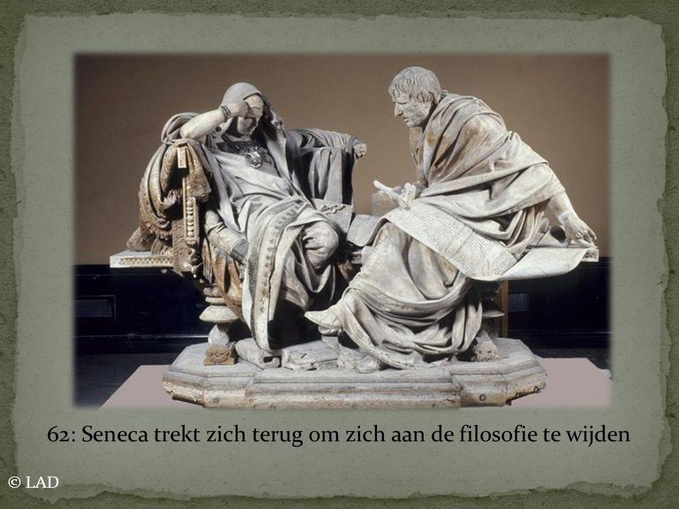 62: Seneca trekt zich terug om zich aan de filosofie te wijden © LAD