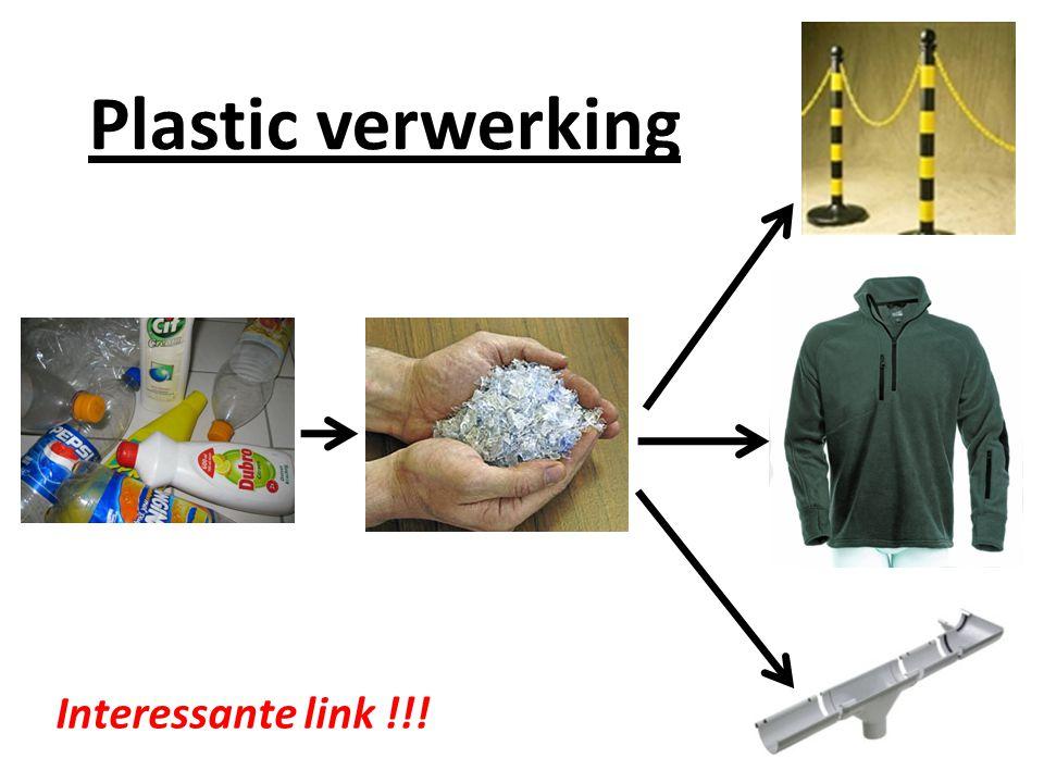Plastic verwerking Interessante link !!!