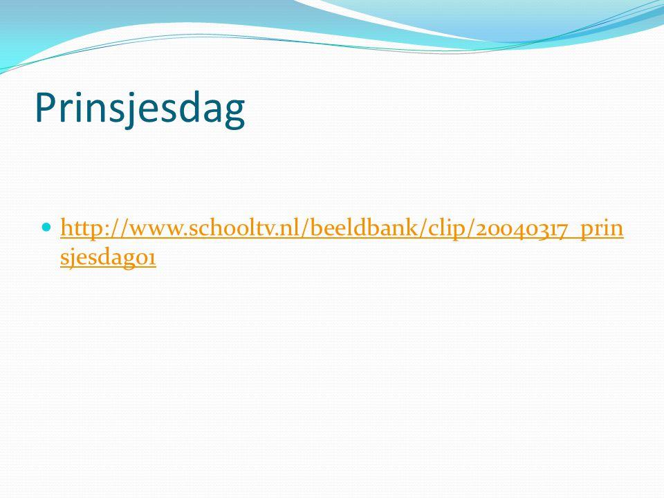 Prinsjesdag http://www.schooltv.nl/beeldbank/clip/20040317_prin sjesdag01 http://www.schooltv.nl/beeldbank/clip/20040317_prin sjesdag01