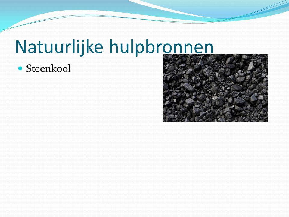 Natuurlijke hulpbronnen Steenkool