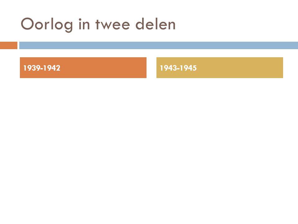 Oorlog in twee delen 1939-19421943-1945