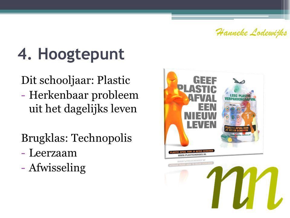 5. Verbeterpunten - Planning - Kritischer zijn Hanneke Lodewijks
