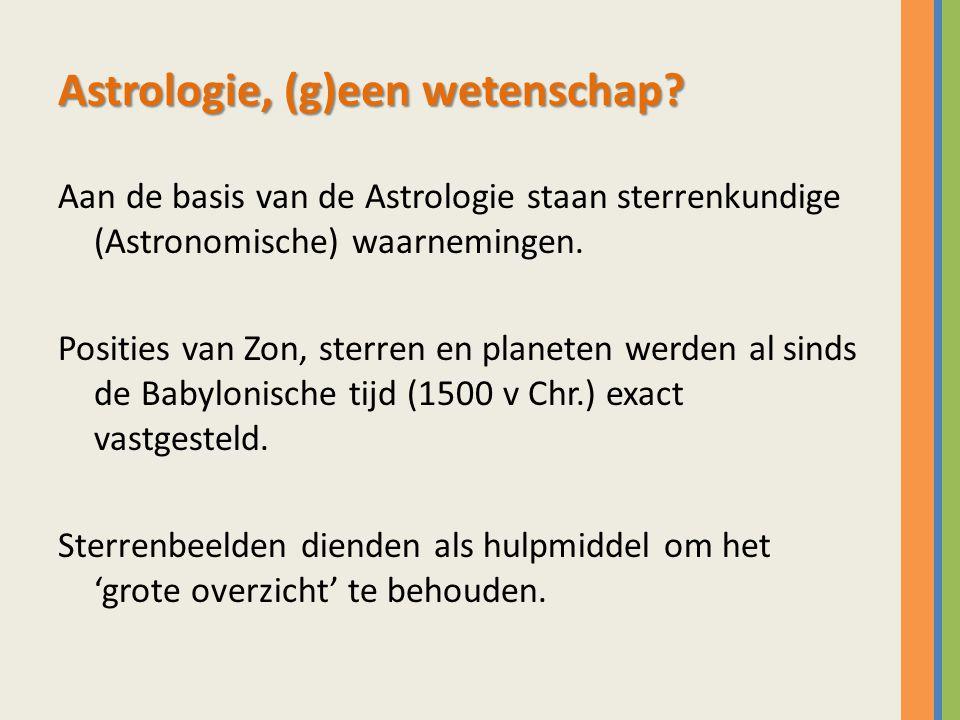 Astrologie, (g)een wetenschap.
