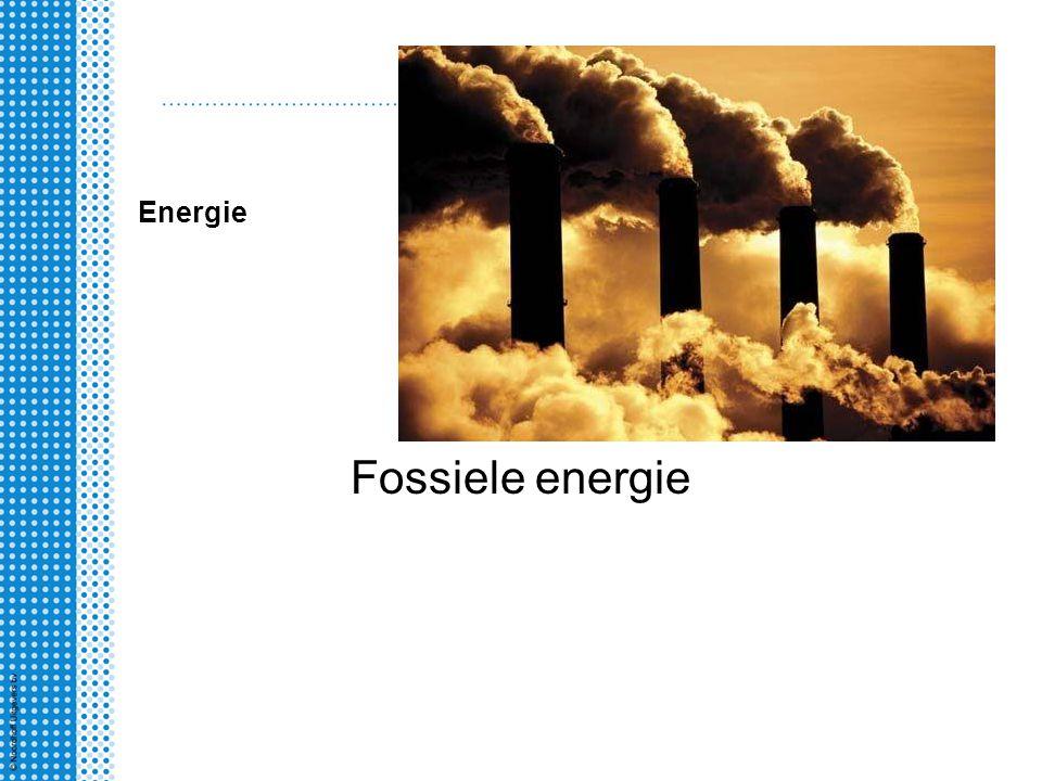 Energie Fossiele energie