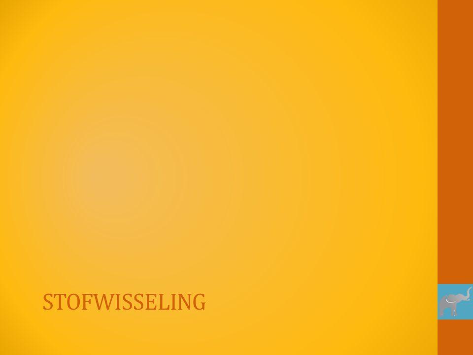 STOFWISSELING