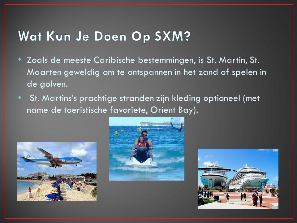 St. Maarten Historie Het verhaal van St.