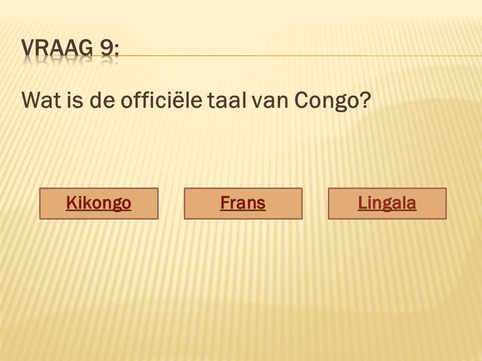 Wat is de officiële taal van Congo?