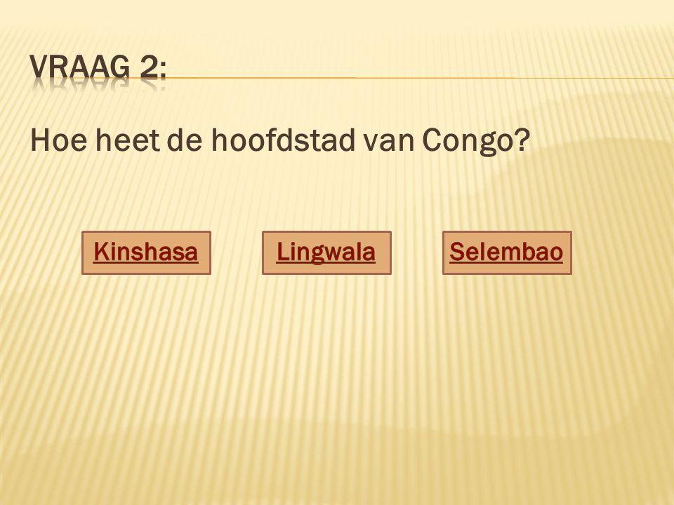 Hoe heet de hoofdstad van Congo?
