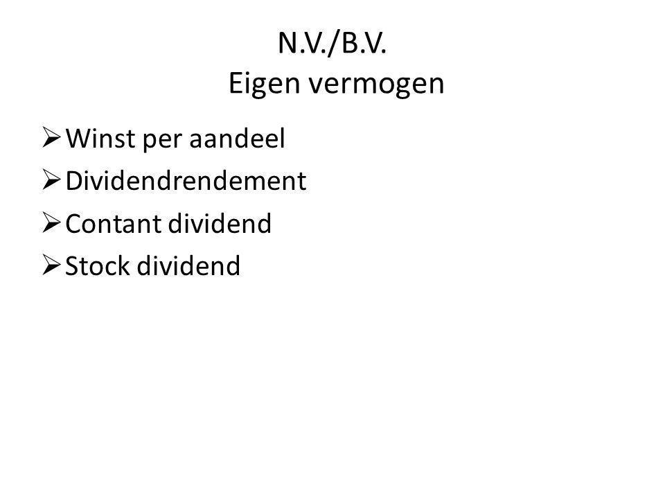 N.V./B.V.