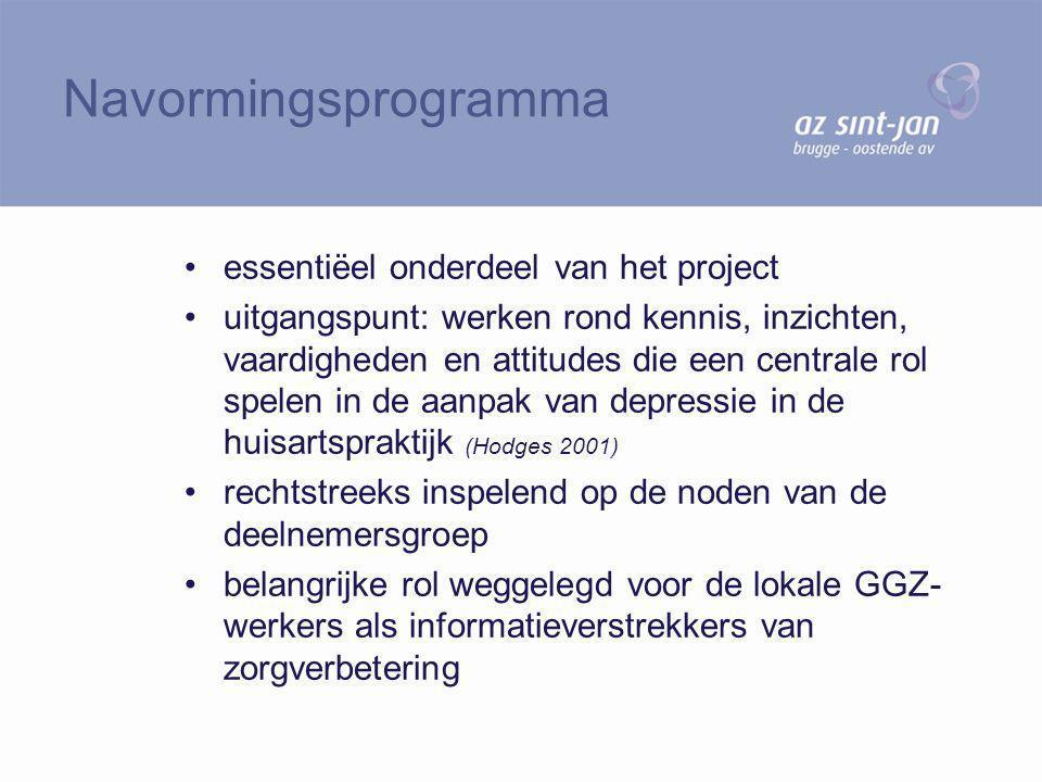 essentiëel onderdeel van het project uitgangspunt: werken rond kennis, inzichten, vaardigheden en attitudes die een centrale rol spelen in de aanpak v