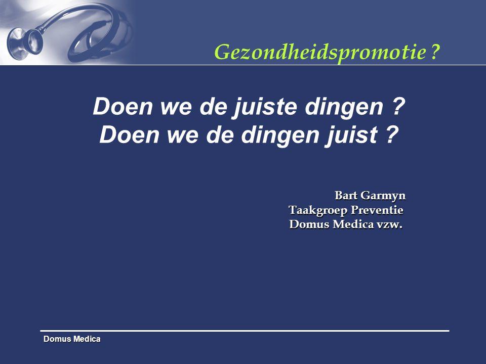 Domus Medica Effect Screening & Interventie