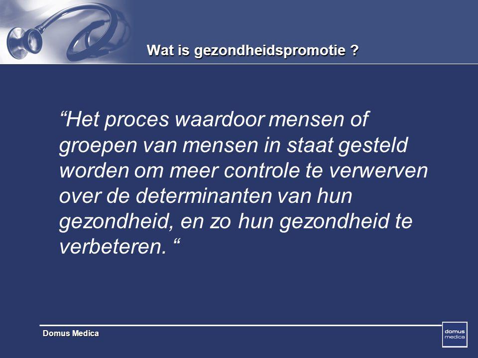 Domus Medica Lok uit noodzaak tot verandering.. UITLOKKING ( open VRAGEN)