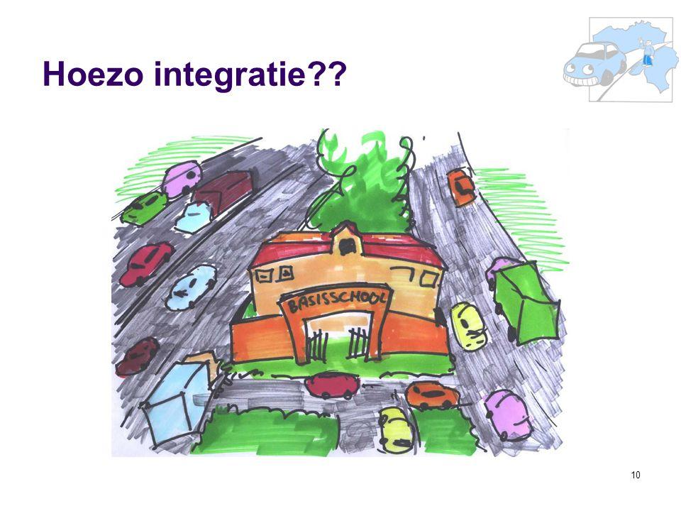10 Hoezo integratie??