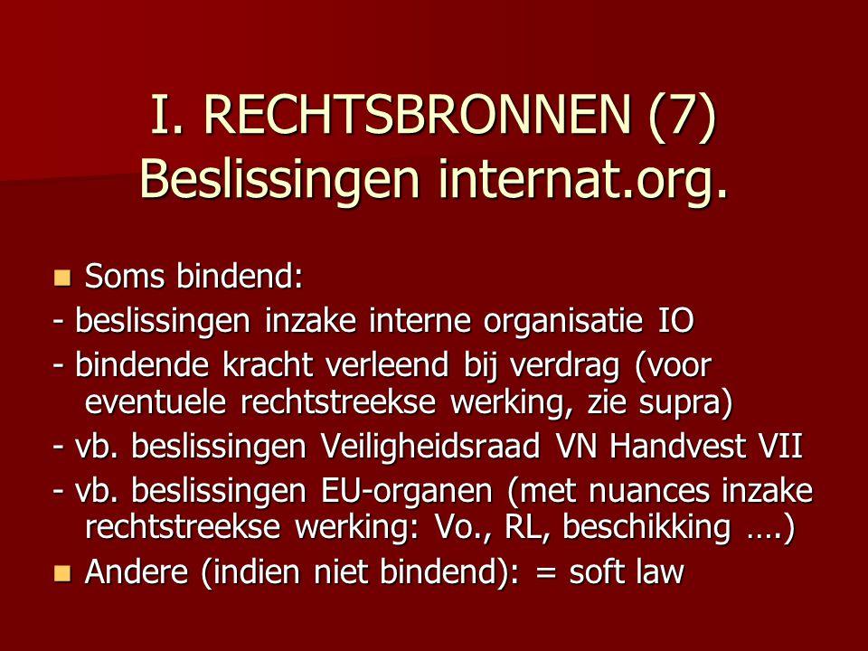 I.RECHTSBRONNEN (7) Beslissingen internat.org.