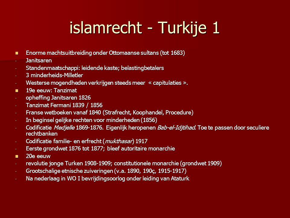 islamrecht - Turkije 1 Enorme machtsuitbreiding onder Ottomaanse sultans (tot 1683) Enorme machtsuitbreiding onder Ottomaanse sultans (tot 1683) - Jan