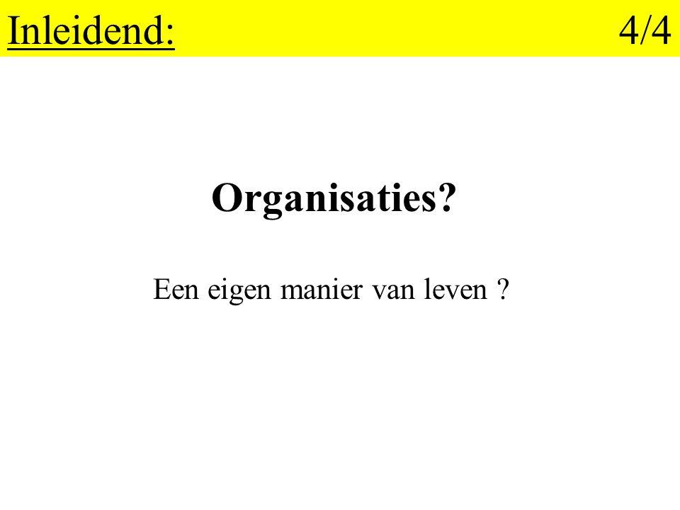 1.Cultuur en organisatie: 20/25 Wanneer cultuur.