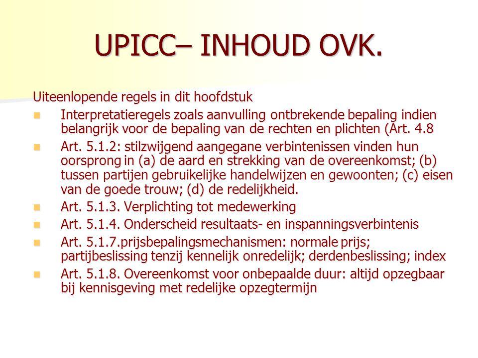 UPICC– INHOUD OVK.