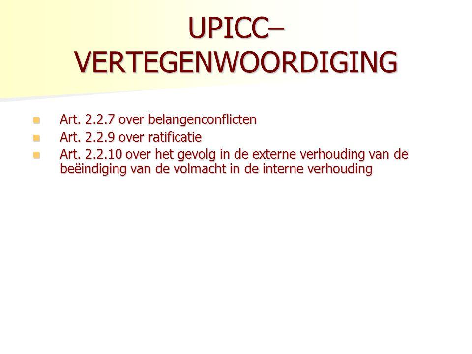 UPICC – REMEDIES : ONTBINDING Gronden voor ontbinding: Gronden voor ontbinding: - wezenlijke (fundamental) tekortkoming (7.3.1.
