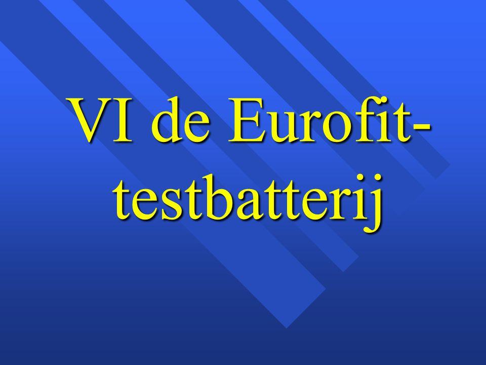 VI de Eurofit- testbatterij