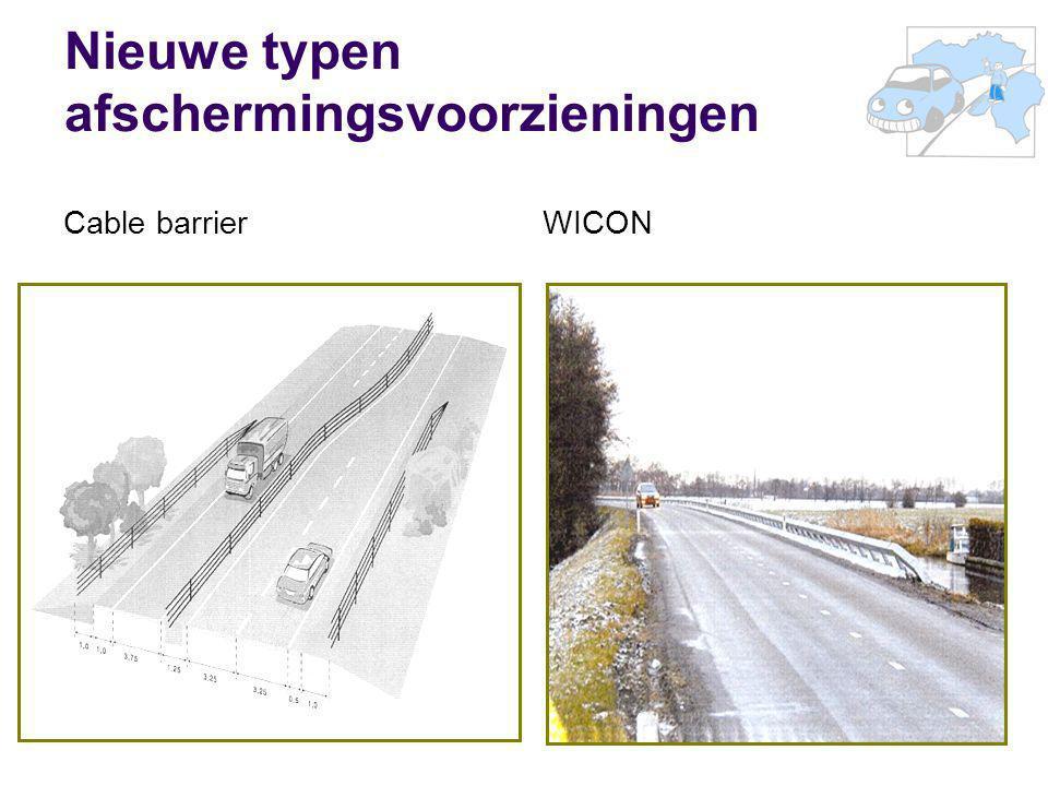 44 Nieuwe typen afschermingsvoorzieningen Cable barrierWICON