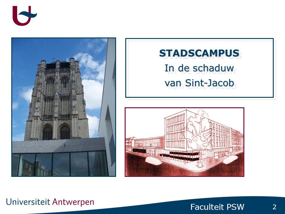 13 Faculteit PSW FACULTEIT