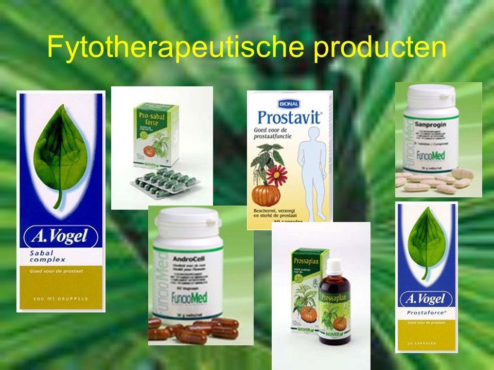 Fytotherapeutische producten