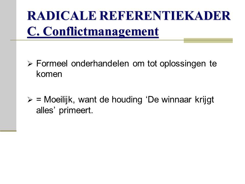 RADICALE REFERENTIEKADER C.
