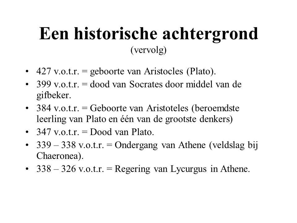 Een historische achtergrond (vervolg) 336 v.o.t.r.
