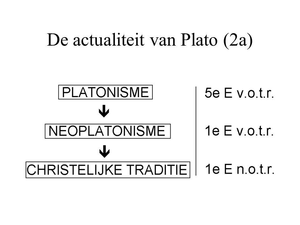 De actualiteit van Plato (2a)