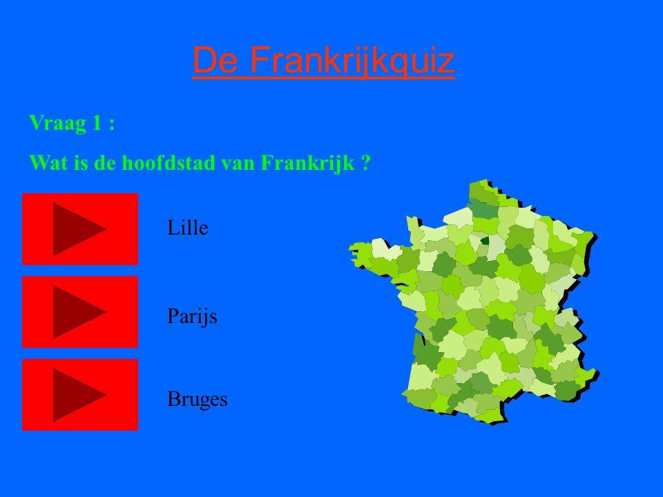 Gefeliciteeeeeeeeeeerd u bent een echte Frankrijk-kenner WE GAAN VERDEEEER